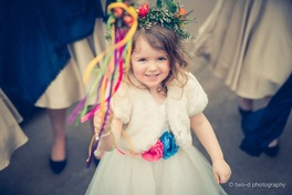 beautiful flower girl wand bedford