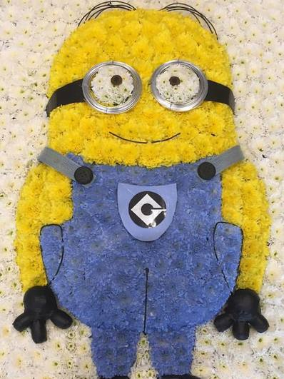 minion funeral tribute bedfordshire