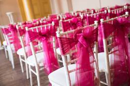 chair hire and sashes bedford
