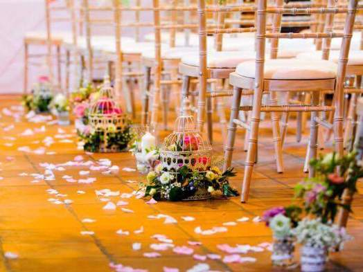 birdcage wedding reception bedford