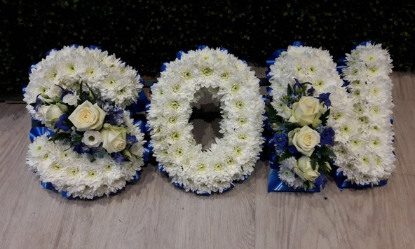 son funeral flowers kempston bedford