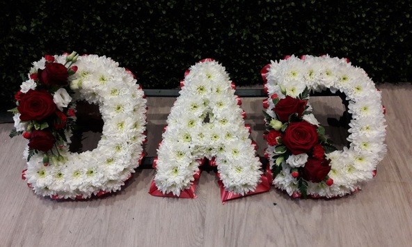 dad funeral flowers kempston bedford