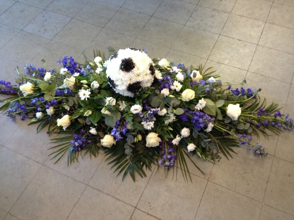 football funeral flowers kempston bedford