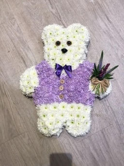 teddy bear funeral tribute bedford