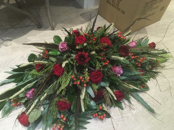 Scottish funeral flowers bedford