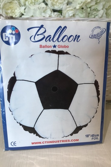 football helium balloon bedford