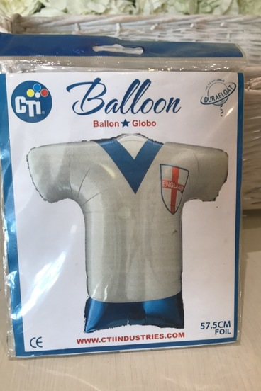 football shirt helium balloon bedford