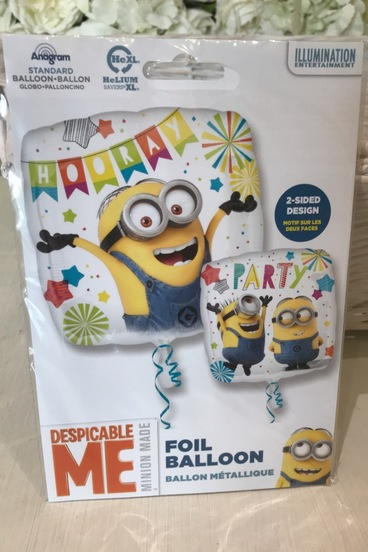 minion despicable me balloon bedford