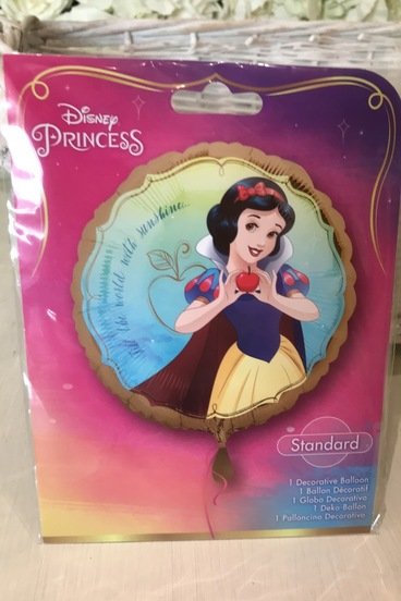 snow white Disney helium balloon bedford