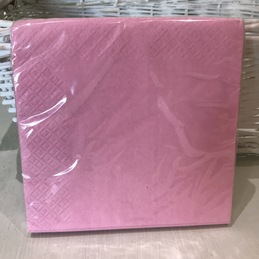 pale pink napkins for party
