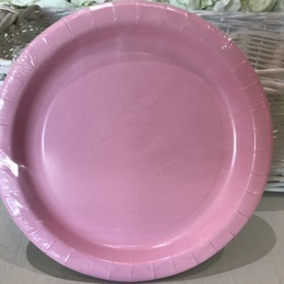pale pink party plates bedford
