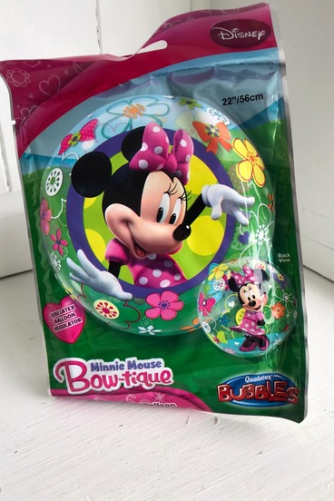 Minnie mouse helium balloon