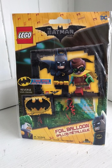 Lego Batman party balloon